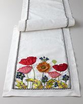 Mackenzie Childs MacKenzie-Childs Red Poppy Runner