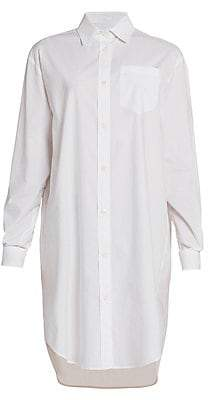 Moschino Women's Oversized Button Down Shirtdress