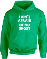Brand88 I Ain't Afraid Of No Ghost, Kids Printed Hoodie