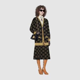 Gucci Wool cardigan with GG motif