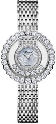 Chopard White Gold and diamonds Happy Diamonds Icons Watch 30.3mm