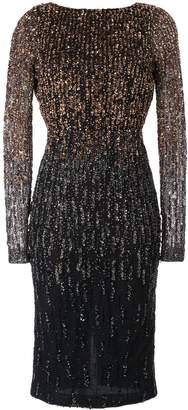 Rachel Gilbert Amabel sequin ombré dress