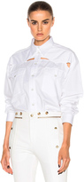 Y/Project Y Project Oversized Button Down Shirt in White.