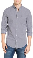 Original Penguin Men's Extra Slim Fit Dobby Check Woven Shirt