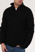 Y's Wool Zip Sweater