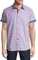 Robert Graham Short-Sleeve Classic-Fit Hazelwood Sport Shirt