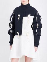 J.W.Anderson Slash-sleeve denim jacket