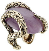 Roberto Cavalli Statement Ring with Semi-Precious Stone