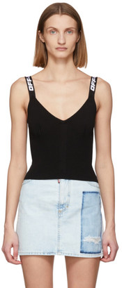 Off-White Off White Black Industrial Knit Tank Top
