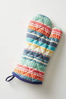 Anthropologie Colorful Chambray Dish Towel