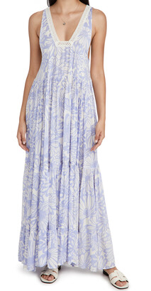 Free People Tiers For You Maxi Dress