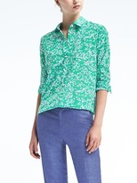 Banana Republic Dillon-Fit Floral Shirt