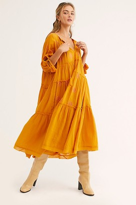 Free People Celestial Skies Midi Dress