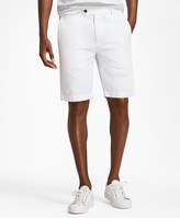 "Brooks Brothers Garment-Dyed 10"" Bermuda Shorts"