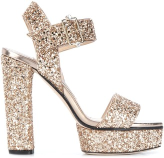 Jimmy Choo Santina 125mm platform sandals