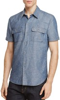 Paige Flynn Chambray Regular Fit Button-Down Shirt
