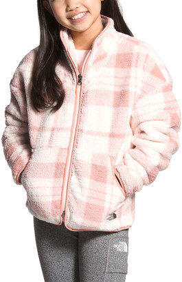 The North Face Girl's Campshire Plaid Fleece Zip-Up Jacket, Size XXS-XL