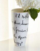 Kate Spade Daisy Place Wit & Wisdom Vase