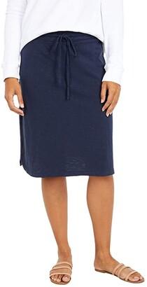 Mod-o-doc Slub Jersey Drawstring Skirt (Twilight) Women's Skirt