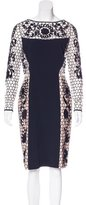 Temperley London Crochet Sheath Dress