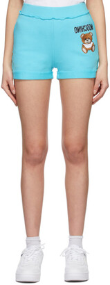 Moschino Blue Inside Out Teddy Bear Shorts