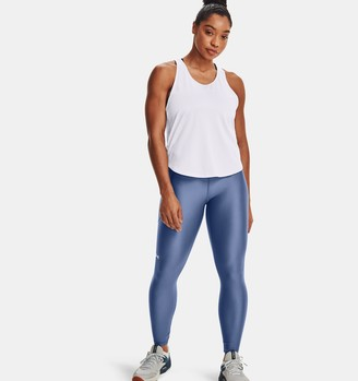 Under Armour Women's HeatGear Armour No-Slip Waistband Ankle Leggings
