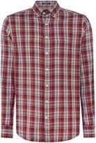 Gant Bright Plaid Long-sleeve Cotton Shirt