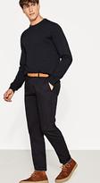Esprit Stretch cotton chinos with a belt