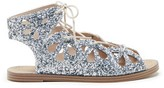 Sole Society Lylia Cage Lace-Up Sandal