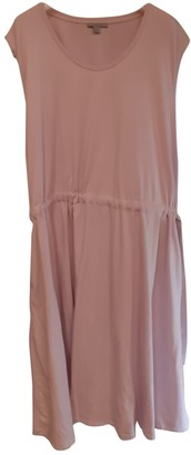 Cos Pink Cotton Dress for Women