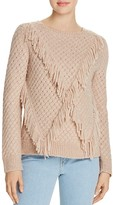 Rebecca Taylor Fringe Pullover Sweater