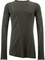 Masnada long-sleeved flared T-shirt
