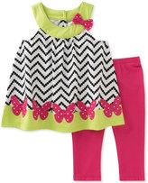 Kids Headquarters 2-Pc. Tunic & Capri Leggings Set, Toddler & Little Girls (2T-6X)