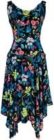 Alexa Dress Tropical Print