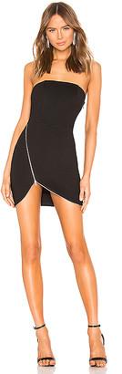 superdown Nylah Front Zip Dress