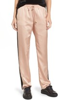 Socialite Women's Satin Track Pants
