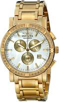 Invicta Men's Collection Limited Edition Diamond Gold-Tone Watch 4743