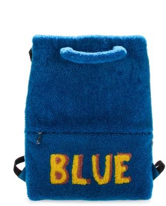 Fendi Blue Backpack
