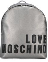 Love Moschino logo backpack
