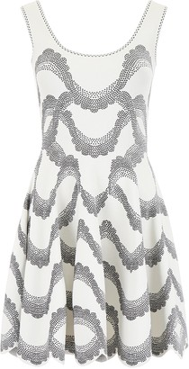 Alexander McQueen Jacquard Mini Dress
