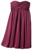 TEVOLIOTM Women's Satin Strapless Dress - Limited Availability Colors