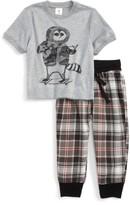 Tucker + Tate Toddler Boy's Graphic Two-Piece Pajamas Set