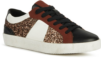 Geox Warley 10 Mix-Media Low-Top Sneakers