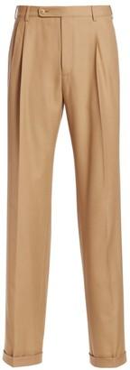 Gucci Plain Weave Wool Trousers
