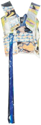 Bernhard Willhelm Multicolour Cotton Top for Women