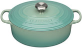 Le Creuset Signature Oval Casserole 29cm/4.7l Cool Mint