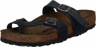 Birkenstock MAYARI Greased leather Women's Flip Flops