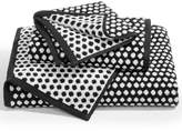 Charter Club Elite Cotton Fashion Dot Washcloth, Created for Macy's Bedding