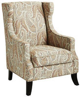 Pier 1 Imports Alec Sunset Paisley Wing Chair