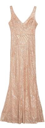 Marina Sequined Floor Length Gown
